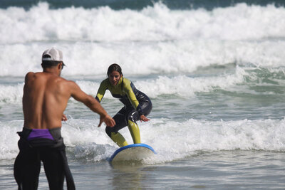 sport de vagues.