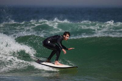 surf camps péniche