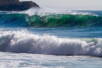 école de surf à péniche