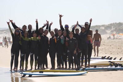 école de surf française au portugal